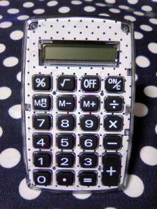 ドットの電卓