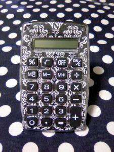 ダマスクの電卓
