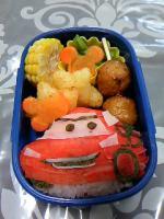 幼稚園のキャラ弁 カーズ