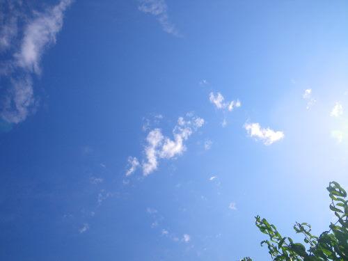 午後の空1107