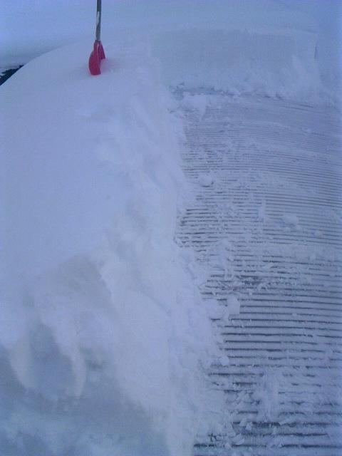 雪下ろし 002