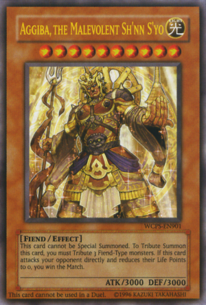 Aggiba, the Malevolent Shnn Syo