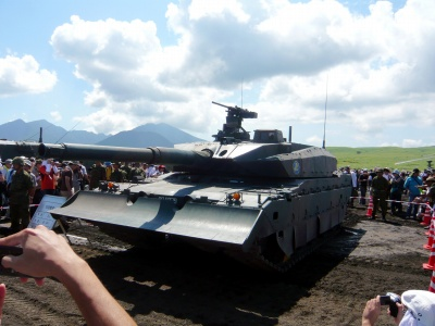 最新型試作戦車