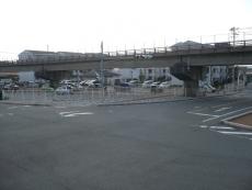 彦島道路に続く交差点