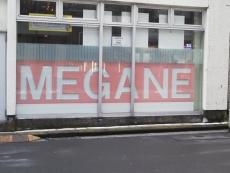 MEGANEの文字が!