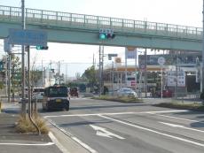 堺市と大阪狭山市の境です