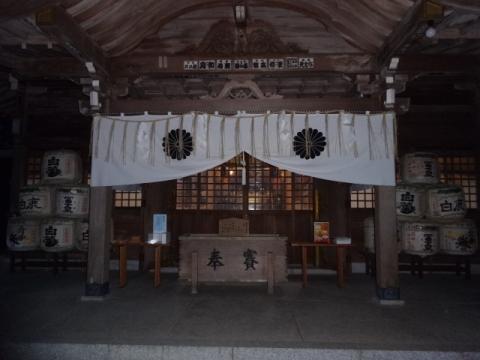 常陸國總社宮 御神殿