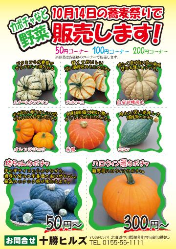 野菜のチラシ