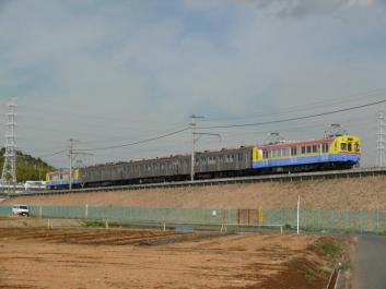 2009年3月11日 横浜高速こどもの国線 恩田~長津田 デヤ7200+長電T6+デヤ7290