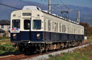 2011年10月27日 上田電鉄別所線 三好町~赤坂上 7200系7253F