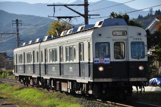 2011年10月27日 上田電鉄別所線 八木沢~舞田 7200系7253F