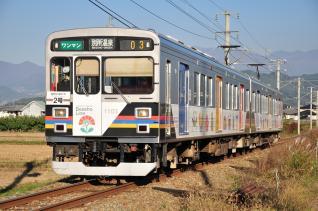 2011年10月27日 上田電鉄別所線 中野~舞田 1000系1003F