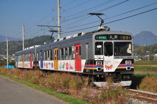 2011年10月28日 上田電鉄別所線 舞田~中野 1000系1003F