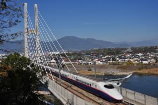 2011年10月28日 JR東日本長野新幹線 上田~佐久平 E2系N21編成