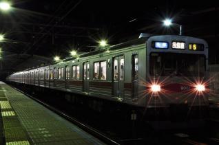 2011年11月3日 東急東横線 東白楽 9000系9001F