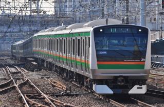 2011年11月12日 JR東日本東海道本線 横浜 E233系NT51+NT1