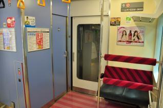 2011年11月12日 JR東日本東海道本線 NT1編成6号車トイレ付近