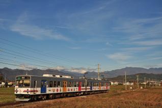 2011年11月12日 上田電鉄別所線 舞田~八木沢 1000系1002F
