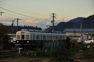 2011年11月12日 上田電鉄別所線 寺下~神畑 7200系7255F