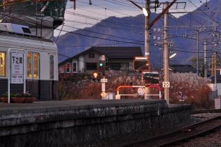 2011年11月12日 上田電鉄別所線 下之郷 7200系7255F
