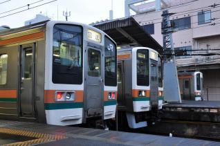 2011年11月19日 JR東日本東海道本線 平塚 211系