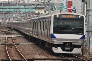 2011年12月2日 JR東日本常磐線 北千住 E531系K-457編成