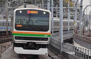 2011年12月2日 JR東日本湘南新宿ライン 赤羽 E231系K-27編成