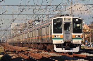 2011年12月12日 JR東日本東海道本線 辻堂~藤沢 211系N55+N**