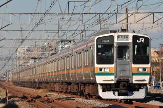2011年12月12日 JR東日本東海道本線 辻堂~藤沢 211系N54+N26