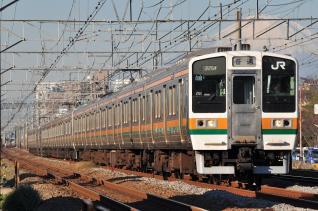 2011年12月12日 JR東日本東海道本線 辻堂~藤沢 211系N59+N4