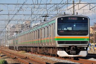 2011年12月12日 JR東日本東海道本線 辻堂~藤沢 E231系K-37
