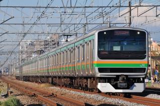 2011年12月12日 JR東日本東海道本線 辻堂~藤沢 E231系S-01+K-15