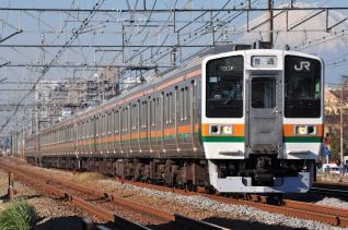 2011年12月12日 JR東日本東海道本線 辻堂~藤沢 211系N58+N5