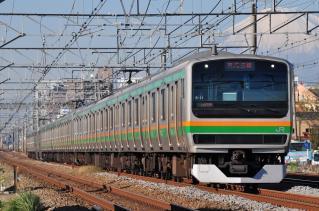 2011年12月12日 JR東日本東海道本線 辻堂~藤沢 E231系S-21+K-**