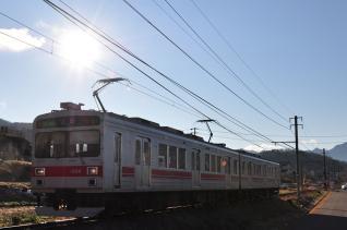 2011年12月17日 上田電鉄別所線 神畑~寺下 1000系1004F