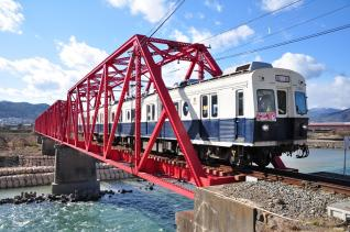 2011年12月17日 上田電鉄別所線 城下~上田 7200系7255F サンタトレイン2011