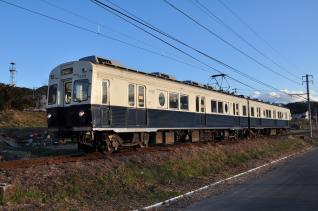 2011年12月19日 上田電鉄別所線 神畑~寺下 7200系7255F