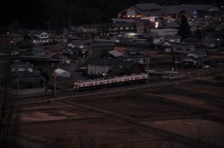 2011年12月19日 上田電鉄別所線 別所温泉~八木沢 7200系7255F