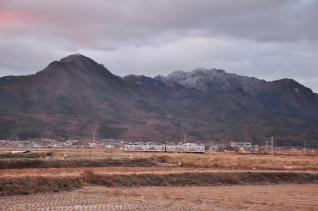 2011年12月20日 上田電鉄別所線 中塩田~下之郷 1000系1001F