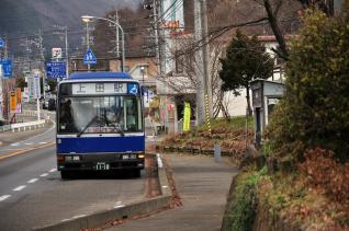 2011年12月20日 上田丸子電鉄真田傍陽線 北本原駅跡