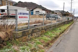 2011年12月20日 上田丸子電鉄真田傍陽線 真田駅跡