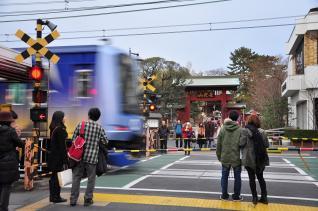 2012年1月1日 東急東横線 妙蓮寺