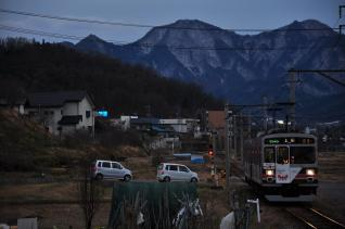 2012年1月3日 上田電鉄別所線 神畑~寺下 1000系1003F