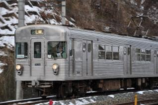 2012年1月4日 長野電鉄屋代線 屋代~東屋代 3500系O6編成
