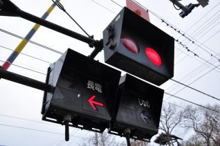 2012年1月4日 長野電鉄屋代線 倉科踏切