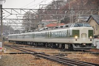 2012年1月4日 しなの鉄道線 屋代高校前~屋代 JR東日本189系N101編成