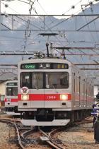 2012年1月4日 上田電鉄別所線 下之郷 1000系1004F