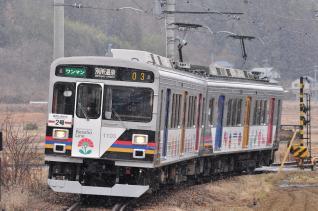 2012年1月4日 上田電鉄別所線 八木沢~別所温泉 1000系1003F