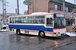 2012年1月4日 上田バス 塩田線 F-011号車