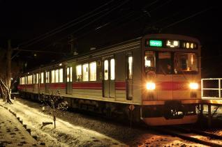 2012年1月4日 上田電鉄別所線 八木沢 1000系1004F